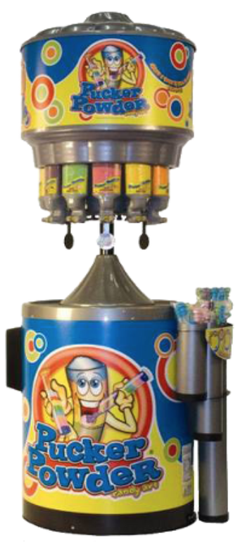 Pucker Powder Machine Hire