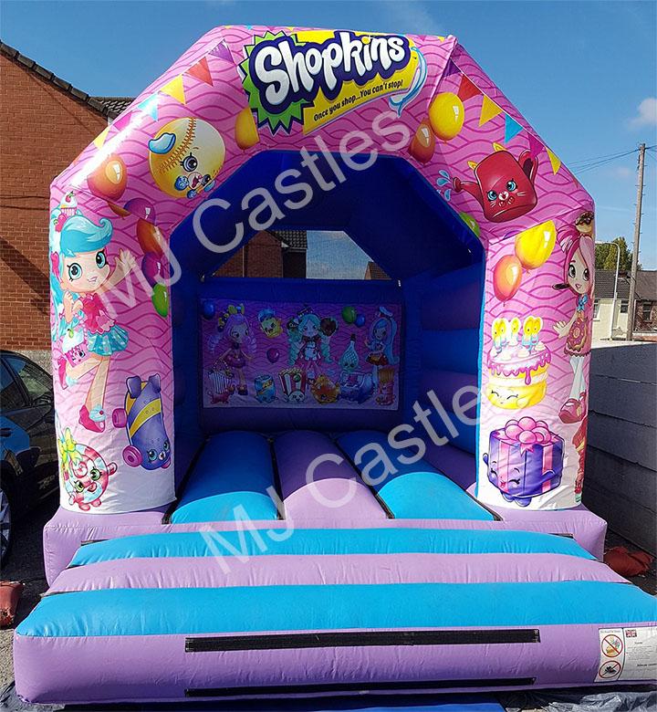 shopkins castle hire liverpool